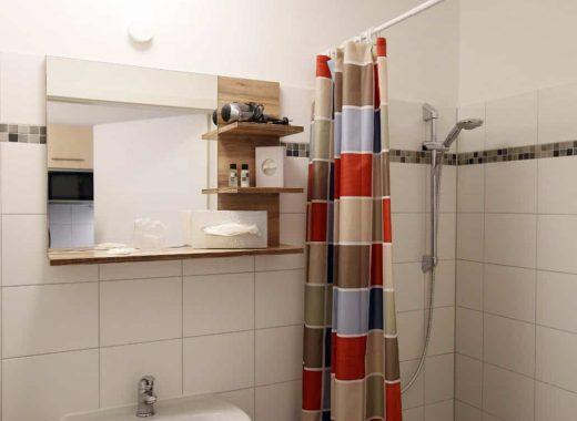 Badezimmer Hotel Lützow