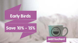 Frühbucher Rabatt 10-15% Hotel Lützow