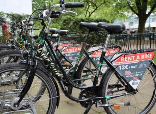 Fahrradverleih im Hotel Lützow