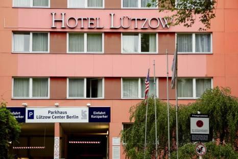 Außenfassade Hotel Lützow