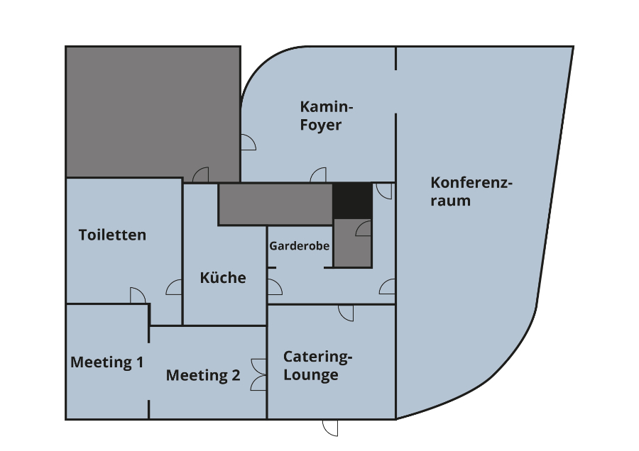 Tagungsräume Grundriss